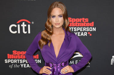 Haley Kalil arrives at the Sports Illustrated 2018 Sportsperson of the Year Awards held at the Beverly Hilton in Beverly Hills, CA on Tuesday, December 11, 2018.