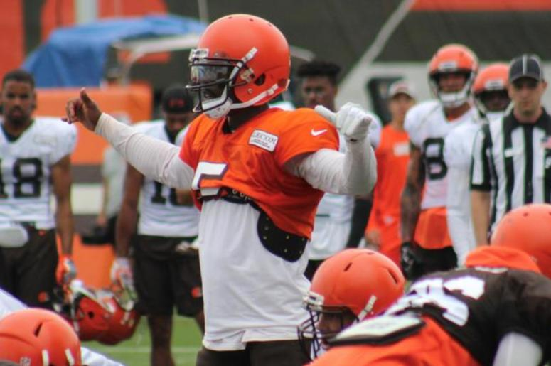 e232192b2 Cleveland Browns Baker Mayfield upgrades QBs RV at training camp ...