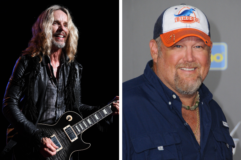 Tommy Shaw of Styx, Larry The Cable Guy