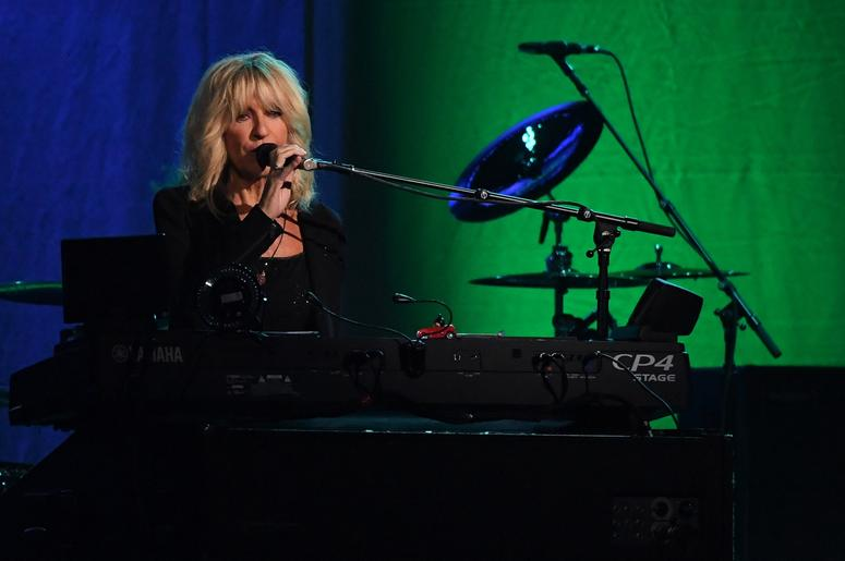 Christine McVie performs