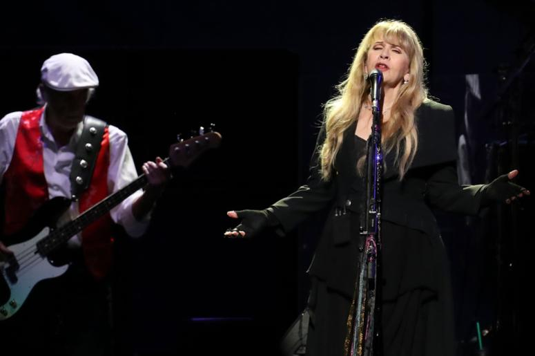 Stevie Nicks performs with Fleetwood Mac at the Yum Center in Louisville. Oct. 10, 2018