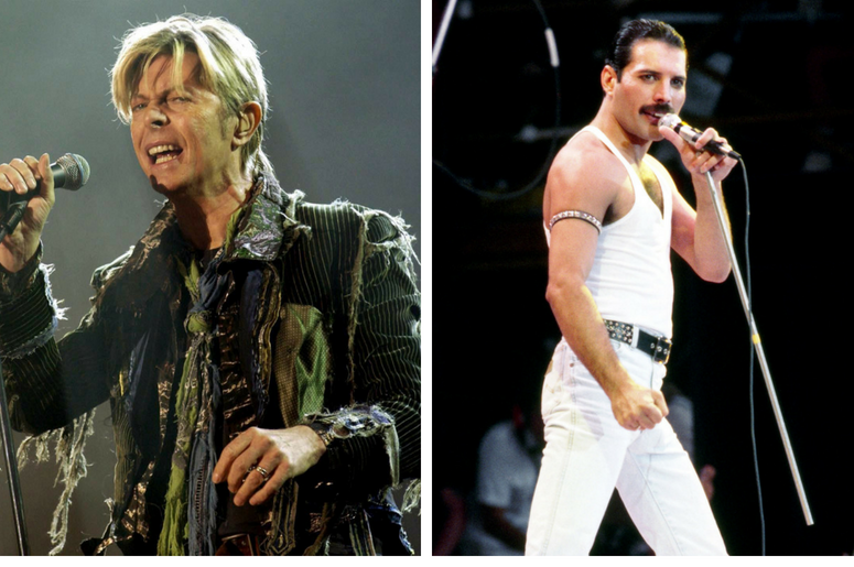 David Bowie, Freddie Mercury