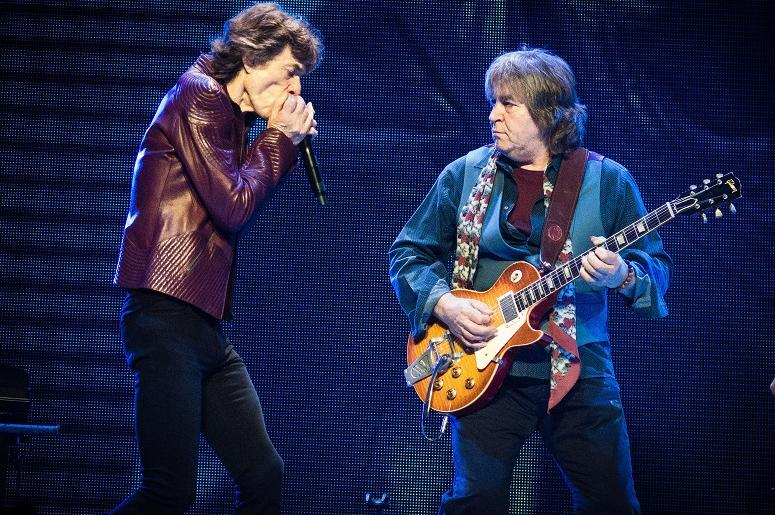 Mick Jagger, Mick Taylor, The Rolling Stones.