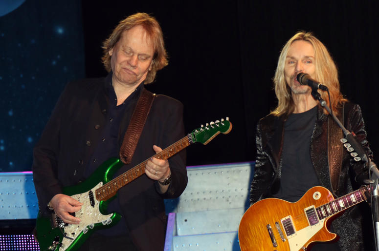 """James """"JY"""" Young, Tommy Shaw, Styx performing at the Renegades In The Fast Lane"""" Exclusively At The Venetian Las Vegas For The Second Consecutive Year Venetian Showroom"""
