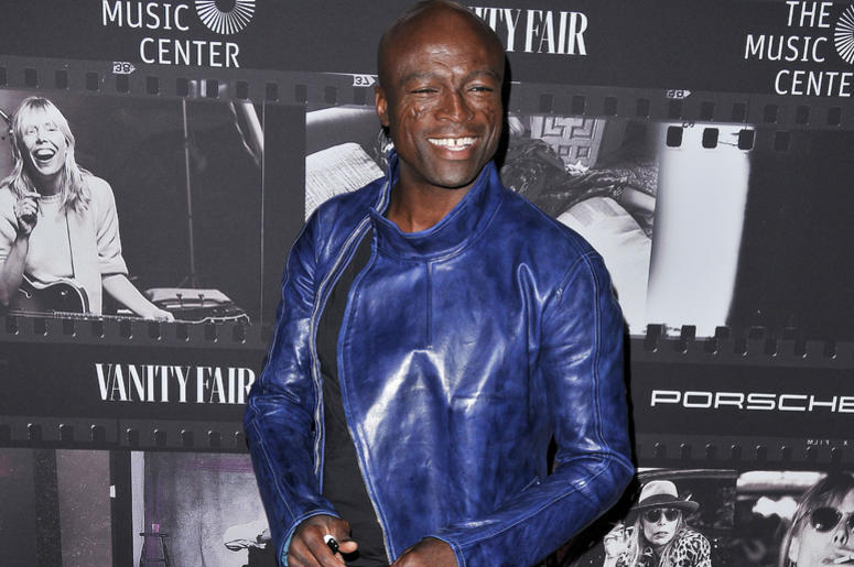 Seal arrives at the JONI 75: A Birthday Celebration held at the Dorothy Chandler Pavilion in Los Ange;e, CA Wednesday, ​November 7, 2018.