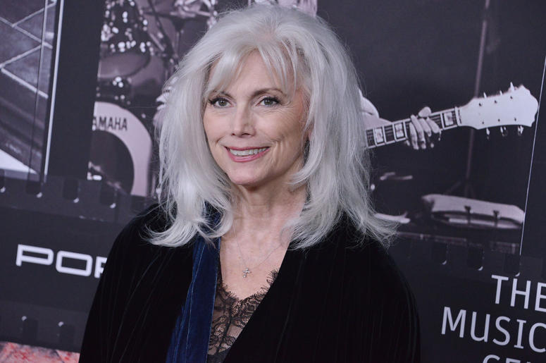 Emmylou Harris arrives at the JONI 75: A Birthday Celebration held at the Dorothy Chandler Pavilion in Los Ange;e, CA Wednesday, ​November 7, 2018.