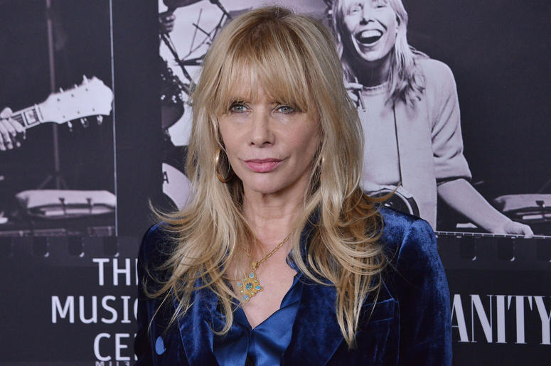 Rosanna Arquette arrives at the JONI 75: A Birthday Celebration held at the Dorothy Chandler Pavilion in Los Ange;e, CA Wednesday, ​November 7, 2018.