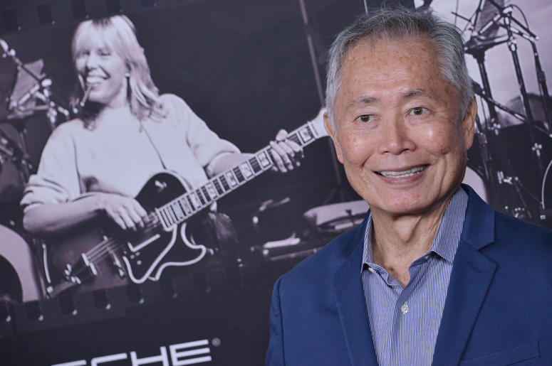 George Takei arrives at the JONI 75: A Birthday Celebration held at the Dorothy Chandler Pavilion in Los Ange;e, CA Wednesday, ​November 7, 2018.