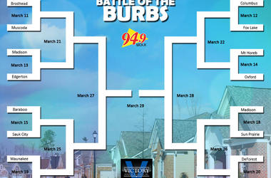 LISTEN: Battle of the Burbs Round 7!  Jeff from Waunakee VS Scott of Wisconsin Dells