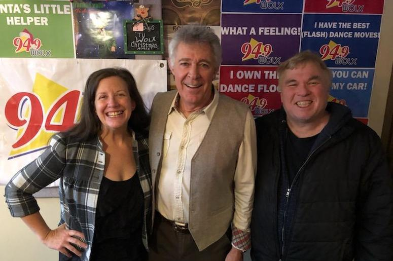 "LISTEN: ""Marcia, Marcia..!"" Nope. The Actor who played Greg Brady, Barry Williams, Joins Jim & Teri In-Studio"