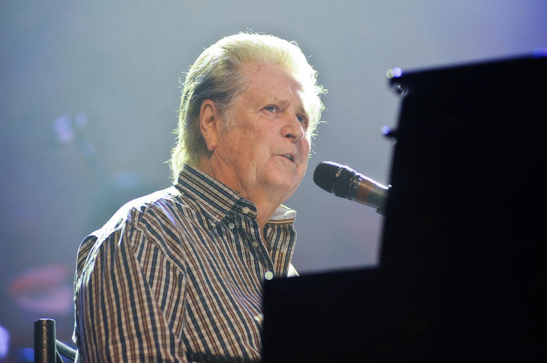 Brian Wilson performs on stage at the 10th Annual Dreamcatcher Gala
