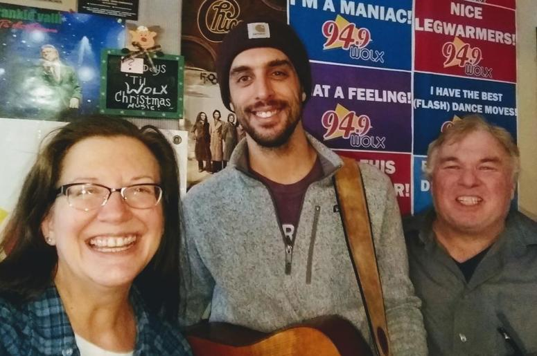 LISTEN: Live music from Dan Tedesco! The Iowa-based musician is on tour & stopped in to talk with Jim & Teri