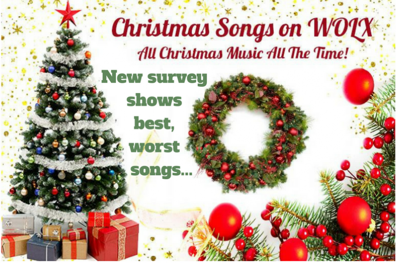new survey shows best worst christmas songs - Best Christmas Songs List
