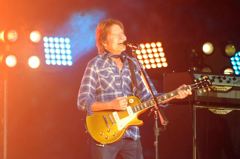 John Fogerty performs during half time of the 2015 CFP semifinal at the Orange Bowl