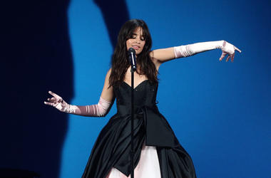 Camila Cabello performs onstage during the 2018 American Music Awards at Microsoft Theater on October 9, 2018 in Los Angeles, California