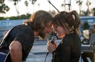 "(L-R) BRADLEY COOPER as Jack and LADY GAGA as Ally in the drama ""A STAR IS BORN,"" from Warner Bros. Pictures, in association with Live Nation Productions and Metro Goldwyn Mayer Pictures, a Warner Bros. Pictures release."