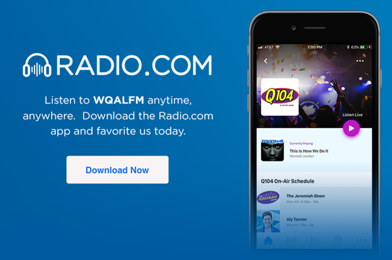 Listen to Q104 anytime, anywhere