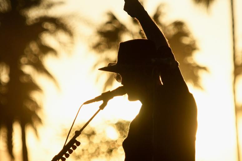 INDIO, CA - APRIL 13: Tom Howie of Bob Moses performs at the Outdoor Theatre during the 2019 Coachella Valley Music And Arts Festival on April 13, 2019 in Indio, California. (Photo by Frazer Harrison/Getty Images for Coachella)