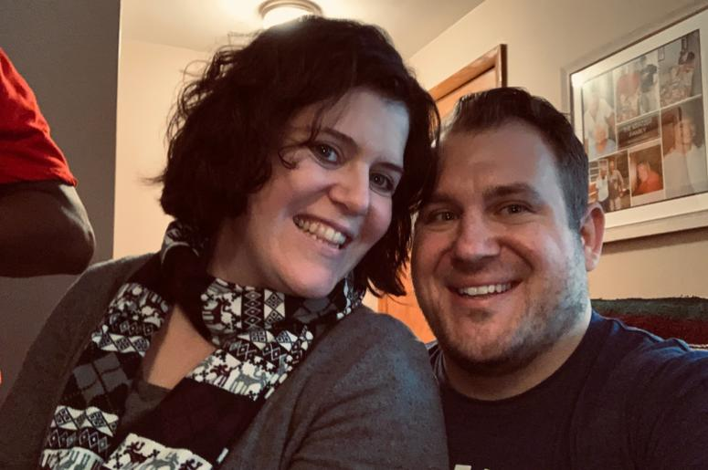 Jeremiah and his wife, Jessy Widmer