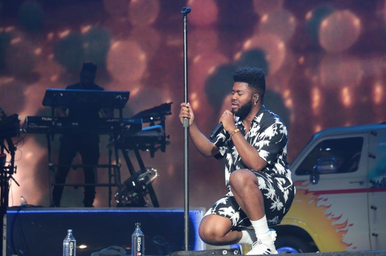 Khalid performs at the Coachella Valley Music and Arts Festival on Sunday, April 14, 2019 in Indio, Calif. Khalid 12