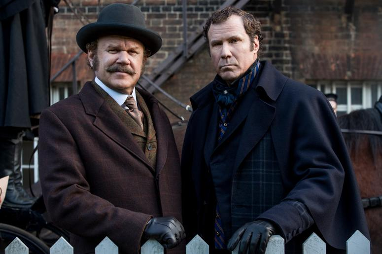 "888856 - ""Holmes and Watson"" - DF-01232_r - SHERLOCK HOLMES (Will Ferrell) and WATSON (John C. Reilly) in Columbia Pictures' HOLMES AND WATSON."