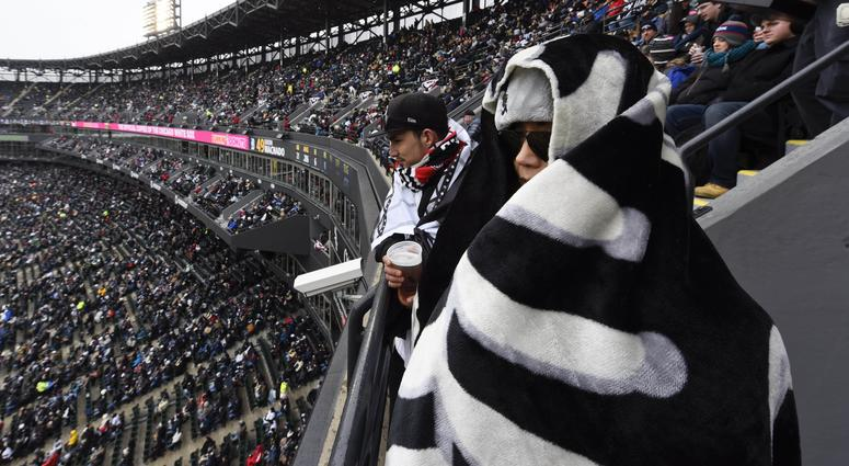 White Sox fans at Guaranteed Rate Field
