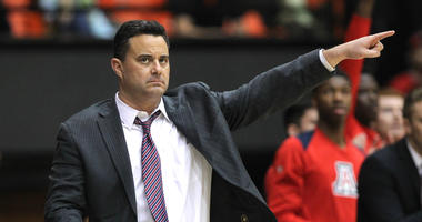 Arizona coach Sean Miller