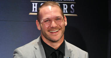 Brian Urlacher as he's selected into the Pro Football Hall of Fame.