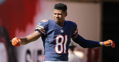 Bears receiver Cam Meredith