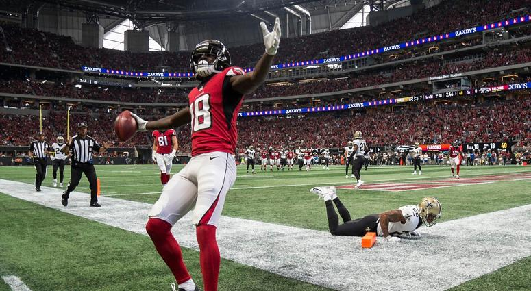 Falcons receiver Calvin Ridley