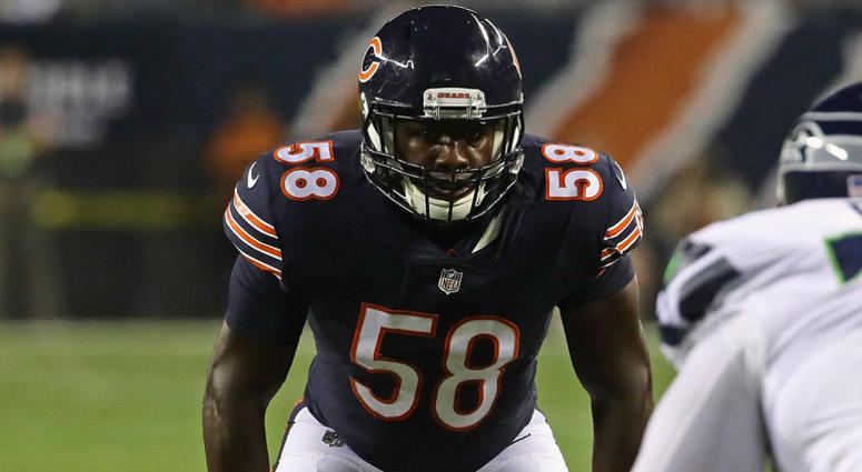 Bears linebacker Roquan Smith
