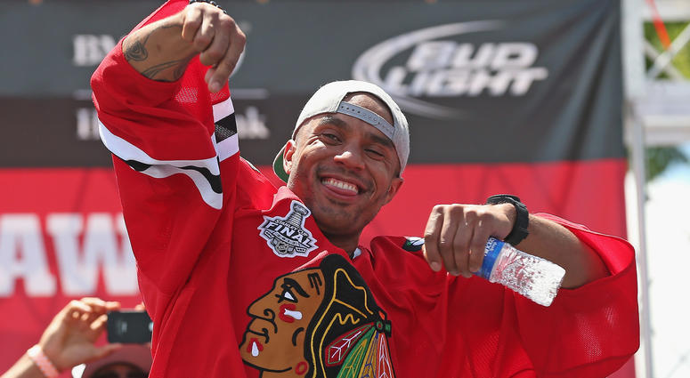 Former Blackhawks goalie Ray Emery