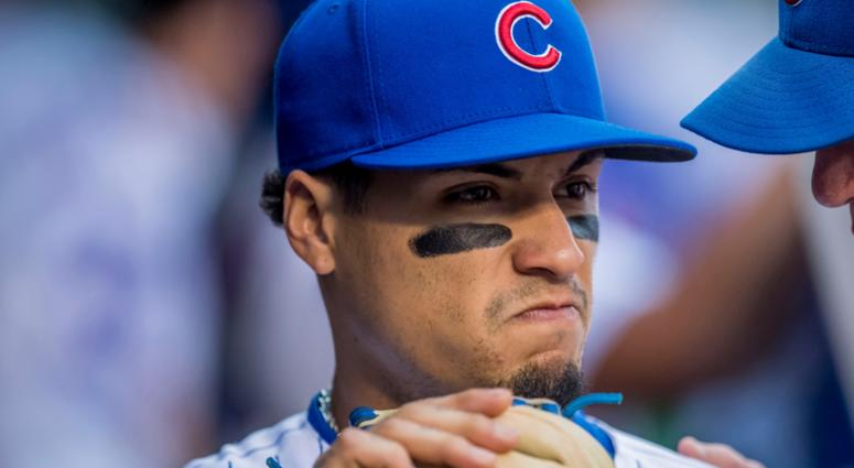 Watch: Cubs' Javier Baez Jukes His Way To First Base