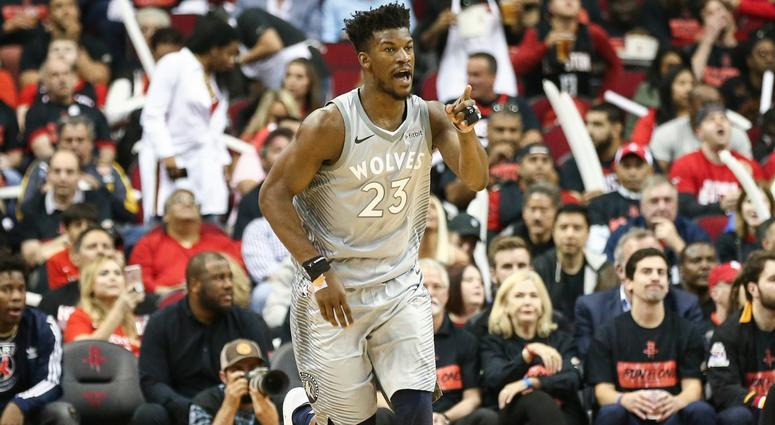 Timberwolves wing Jimmy Butler
