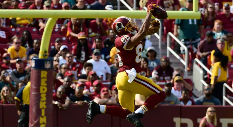 Redskins tight end Jordan Reed