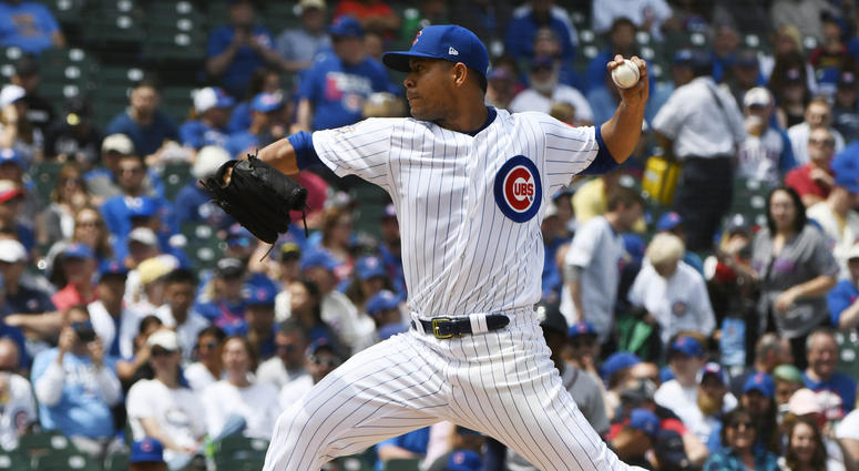 Cubs left-hander Jose Quintana