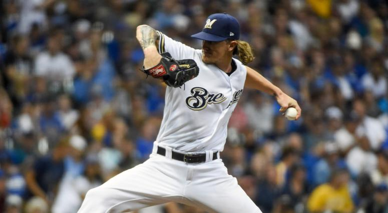Brewers reliever Josh Hader