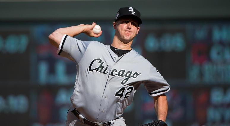 White Sox reliever Nate Jones