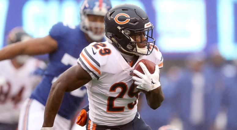 Bears running back Tarik Cohen
