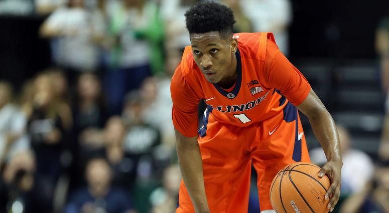 Illinois guard Trent Frazier