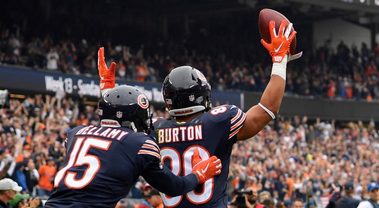Trey Burton nominated for 2018 Walter Payton Man of the Year Award