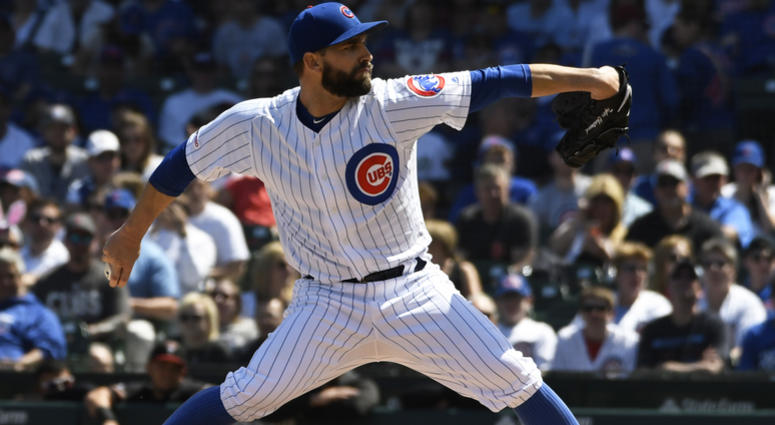 Cubs pitcher Tyler Chatwood