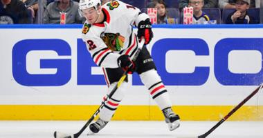 Blackhawks winger Alex DeBrincat