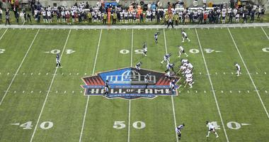 The Bears and Ravens play in the Hall of Fame Game.