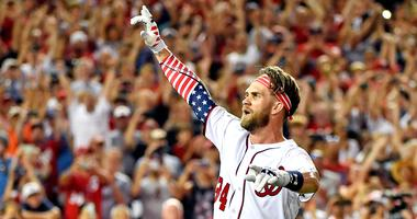 Nationals outfielder Bryce Harper
