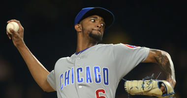 Cubs reliever Carl Edwards Jr.
