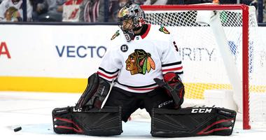 Blackhawks goalie Corey Crawford