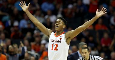 Virginia forward De'Andre Hunter