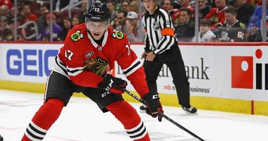 Blackhawks forward Dylan Strome