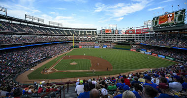 Globe Life Park in Arlington, Texas